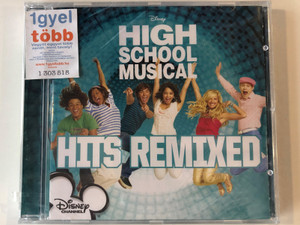 High School Musical - Hits Remixed / Walt Disney Records ‎Audio CD 2008 / 226 0762