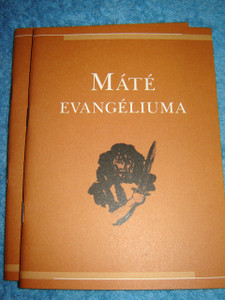 Mate Evangeliuma / Gospel of Matthew in Hungarian [Paperback] by Bible Society