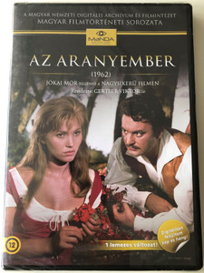 Az aranyember (The Man of Gold) DVD 1962 / Directed by Gertler Viktor / Starring: Csorba András, Béres Ilona, Krencsey Marianne, Gobbi Hilda (5999884681250)