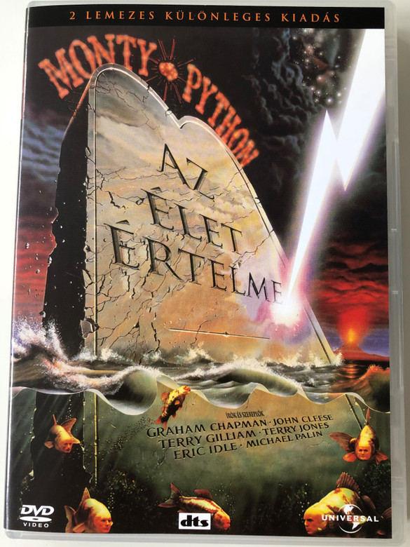 The Meaning of Life - Monty Python 2x DVD 1983 / Directed by Terry Jones / Starring: Graham Chapman, John Cleese, Terry Gilliam, Eric Idle, Michael Palin (5050582072501)