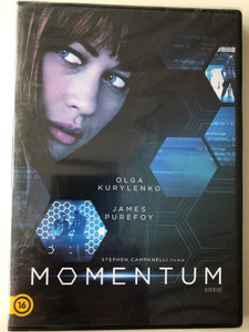 Momentum DVD 2015 / Directed by Stephen Campanelli / Starring: Olga Kurylenko, James Purefoy, Lee-Anne Summers, Hlomla Dandala (5996514024043)