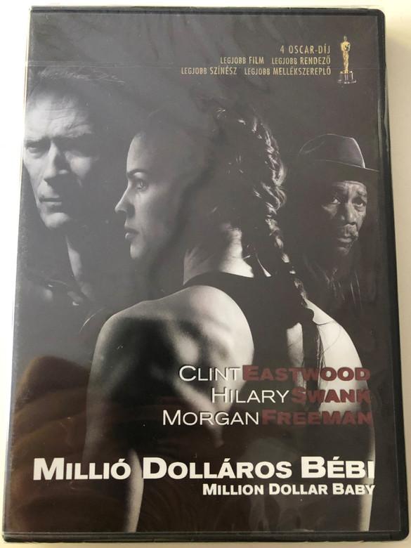 Million Dollar Baby DVD 2004 Millió Dolláros Bébi / Directed by Clint Eastwood / Starring: Clint Eastwood, Hilary Swank, Morgan Freeman (5999546334272)