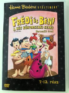 The Flintstones Season 3 -- Disc 2 -- DVD 1966 Frédi és Béni A két kőkorszaki szaki / Season 3 / Harmadik évad / Episodes 7-12 / Hanna-Barbera / Animated Classic (5999010459869)