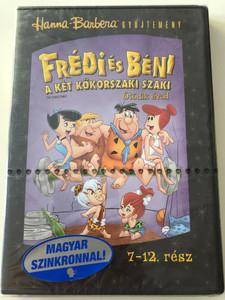 The Flintstones Series Season 5 - Disc 2 - DVD 1966 Frédi és Béni A két kőkorszaki szaki / Season 5 / Ötödik évad / Episodes 7-12 / Hanna-Barbera / Animated Classic (5999048900548)