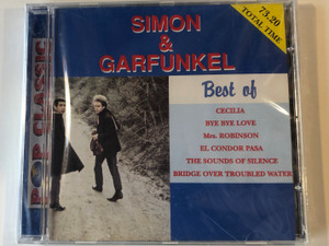 Simon & Garfunkel ‎– Best Of / Cecilia, Bye Bye Love, Mrs. Robinson, El Condor Pasa, The Sounds Of Silence, Bridge Over Troubled Water / Pop Classic / Audio CD / 5998490701468