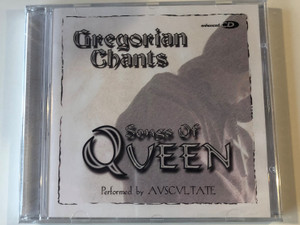 Gregorian Chants - The Songs Of Queen / Performed by Avscvltate ‎/ Elap Music ‎Audio CD 2001 / 5706238308417
