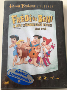 The Flintstones Season 1 DVD Frédi és Béni Első évad / Episodes 15-21 rész / Hanna-Barbera / Animated Classic / Disc 3. Lemez (5999048908063)