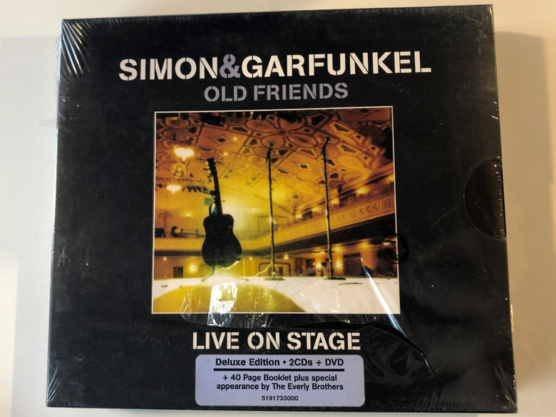 Simon & Garfunkel – Old Friends - Live On Stage / Deluxe Edition / Columbia 2x Audio CD + DVD 2004 / 5191733000