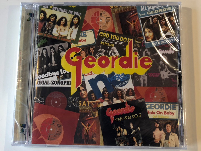 Geordie – The Singles Collection / 7T's Records Audio CD 2001 / GLAM CD 7