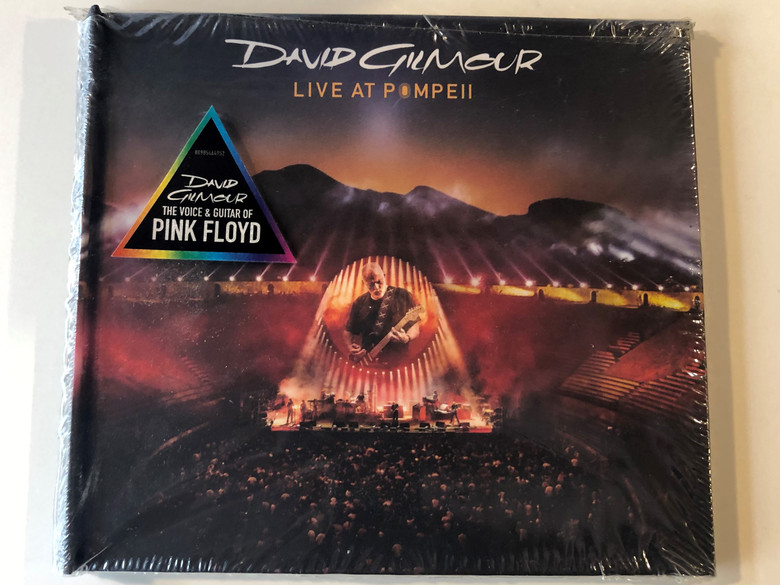 David Gilmour – Live At Pompeii / Sony Music 2x Audio CD 2017 / 88985464952