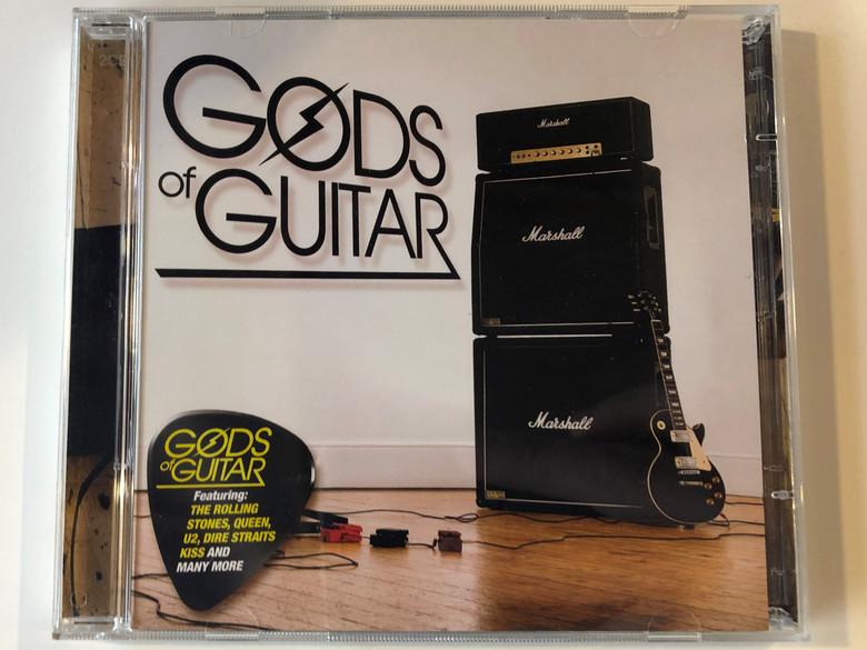 Gods Of Guitar / Featuring: The Rolling Stones, Queen, U2, Dire Straits,Kiss and many more / Universal ‎2x Audio CD 2010 / 5330546