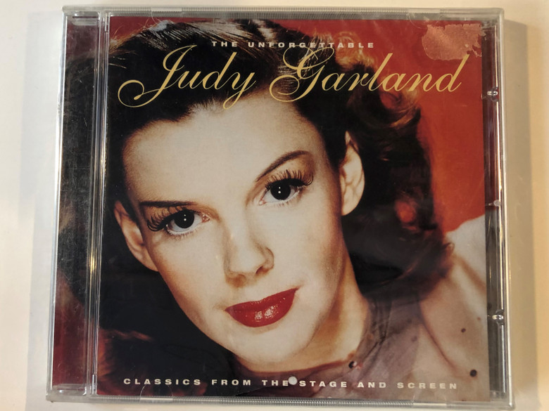 The Unforgettable Judy Garland / Classics From The Stage And Screen / e2 Audio CD 1998 / ETDCD 073
