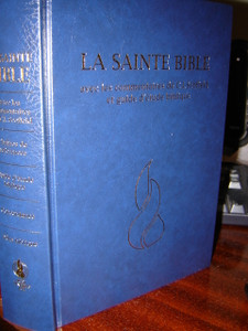French Scofield Study Bible / La Sainte Bible