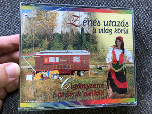 Zenes utazas a vilag korul - Ciganyzene hatarok nelkul / Reader's Digest 3x Audio CD / MS7-CD09053-1-3
