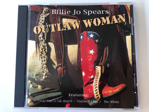 Billie Jo Spears – Outlaw Woman / Featuring: I Don't To Talk About It, Wisdom Of A Fool, Blue Orleans / Country Skyline Audio CD 1996 / 30363 00092
