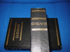 Russian Bible / Black Hardcover with Golden Letter BIBLIJA or Bibliya / Russia / Библия Книги Священного Писания Ветхого и Нового Завета (9785855240153)