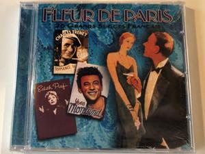 Fleur De Paris - 25 Grands Succes Francais / Prism Leisure Audio CD 2001 / PLATCD 657