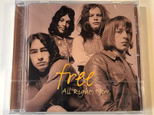 Free – All Right Now / Spectrum Music Audio CD 1999 / 544 167-2