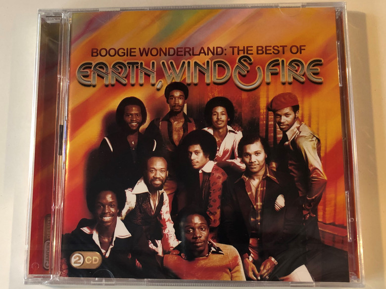 Boogie Wonderland: The Best Of - Earth, Wind & Fire / Sony Music 2x Audio CD 2010 / 88697671342