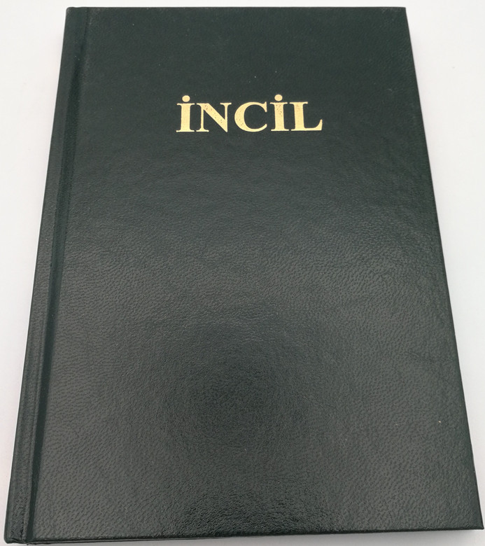 Incil - əhdi-cədid / Azeri New Testament / Hardcover, black / Azerbaijani NT with Word glossary, Biblical measurements table and maps (IncilAzeriNT)