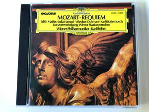 Mozart – Requiem / Edith Mathis, Julia Hamari, Wiesław Ochman, Karl Ridderbusch, Konzertvereinigung Wiener Staatsopernchor, Wiener Philharmoniker, Karl Böhm / Hungaroton Audio CD Stereo / HCDL 31238