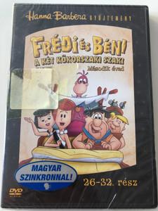 The Flintstones Season 2 DVD Frédi és Béni Második évad / Episodes 26-32 rész / Hanna-Barbera / Animated Classic / Disc 5. Lemez (5999048907998)