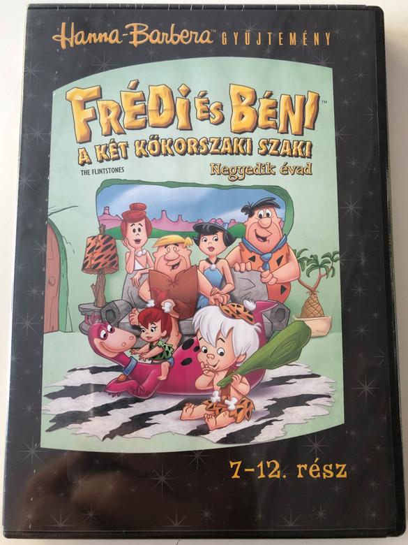 The Flintstones Season 4 DVD Frédi és Béni Második évad / Episodes 7-12 rész / Hanna-Barbera / Animated Classic / Disc 2. Lemez (5999048908872)