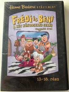The Flintstones Season 4 DVD Frédi és Béni Második évad / Episodes 13-18 rész / Hanna-Barbera / Animated Classic / Disc 3. Lemez (5999010462555)