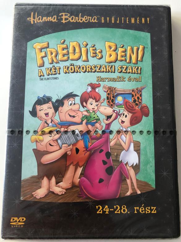 The Flintstones Season 3 DVD Frédi és Béni Harmadik évad / Episodes 24-28 rész / Hanna-Barbera / Animated Classic / Disc 5. Lemez (5999010459890)
