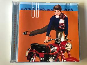 Azok A Hatvanas Évek '60 / Hungaroton Audio CD 2001 / HCD71071 / Those 60's - Hungarian Popular Music