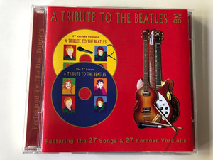 A Tribute To The Beatles - Featuring The 27 Songs & 27 Karaoke Versions / Performed by The Day Trippers ‎/ Prism Leisure ‎2x Audio CD 2001 / PLATBX 2213 (5014293221320)