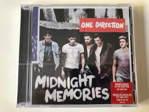 One Direction – Midnight Memories / The New Album From One Direction! / Includes the Massive Hits - Best Song Ever & Story of My Life / Sony Music Audio CD 2013 / 88883774062