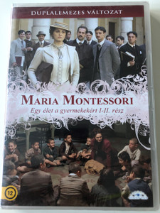 Maria Montessori - Una vita per i bambini DVD 2007 Maria Montessori egy élet a gyermekekért I-II. rész / Directed by Gianluca Maria Tavarelli / Starring: Paola Cortellesi, Massimo Poggio, Gian Marco Tognazzi (5999885039050)