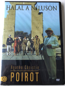 Agatha Christie's Poirot - Death on the Nile DVD 2004 Poirot - Halál a Níluson / Directed by Andy Wilson / Starring: David Suchet, James Fox, Judy Parfitt, Alastair Mackenzie (5999546330373)