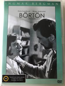 Prison DVD 1949 Börtön / Directed by Ingmar Bergman / Starring: Doris Svedlund, Birgen Malmsten, Eva Henning / Fängelse (5999545586894)