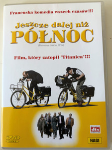 Bienvenue chez les Ch'tis DVD 2008 (Welcome to the Sticks) - Jeszcze dalej niż Północ / Directed by Dany Boon / Starring: Kad Merad, Dany Boon, Zoé Félix / Polish release DVD (5906011003885)