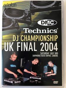 Technics DJ Championship - UK Final 2004 DVD / Mike L, Sinical, Muzzel, Skarfade, Komplete, Matman, Ritchie Ruftone, Dare Devil, Blakey / DMC Limited - ortofon (5021229321047)