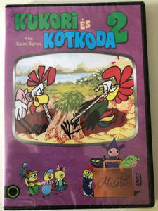 Kukori és Kotkoda II DVD 2011 / Written by Bálint Ágnes / 15 episodes of Hungarian Cartoon / 15 epizód (5999542819858)