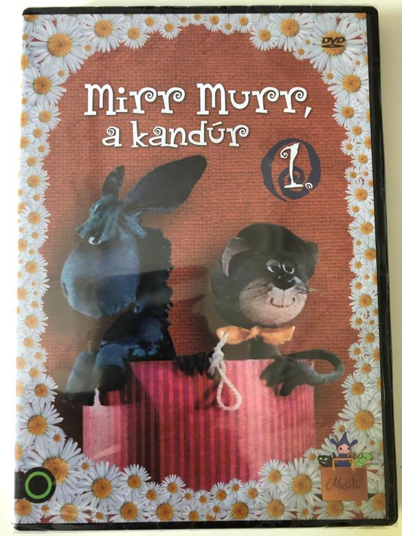 Mirr Murr a Kandúr 1. DVD 1972 (1. évad) / Műfaj: bábjáték, mese / Író: Csukás István / Directed by Foky Ottó / Narrátor Halász Judit / Zeneszerző: Pethő Zsolt (5999542819186)