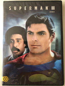 Superman III DVD 1983 / Directed by Richard Lester / Starring: Christopher Reeve, Richard Pryor, Jackie Cooper, Marc McClure (5996514023527)
