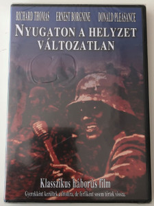 All Quiet on the Western Front DVD 1979 Nyugaton a helyzet változatlan / Directed by Delbert Mann / Starring: Richard Thomas, Ernest Borgnine, Donald Pleasance (AllQuietWesternFrontDVD)