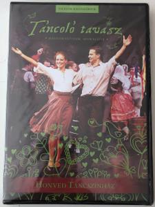 Táncoló tavasz DVD 2015 Hagyományaink, szokásaink / Directed by Zsuráfszky Zoltán / Hungarian folklore dances / Honvéd Táncszínház - Söndörgő Együttes (TancoloTavaszDVD)
