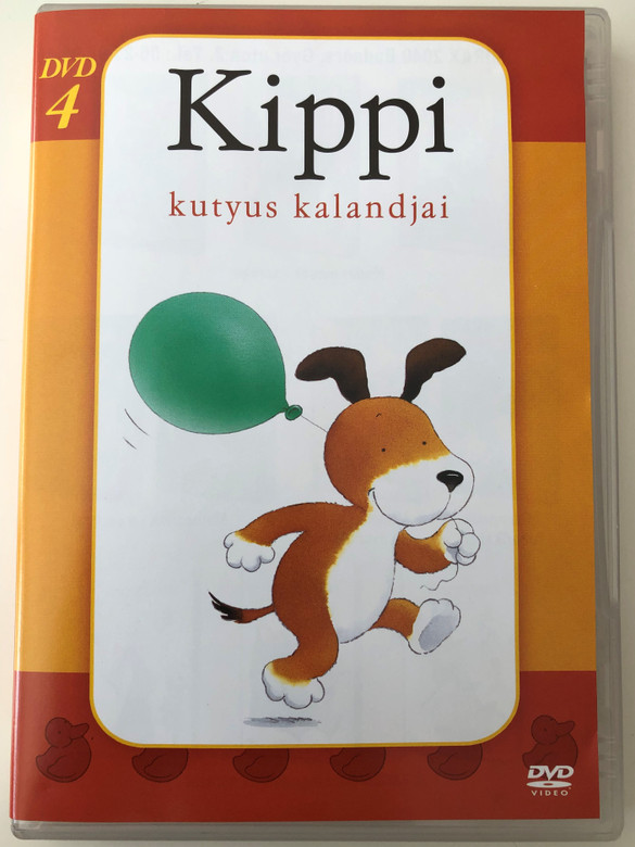 Kipper TV Series 4. DVD 1997 Kippi kutyus kalandjai 4. / Directed by Mike Stuart / Voices: Martin Clunes, Chris Lang, Julia Sawalha (5996473001956)