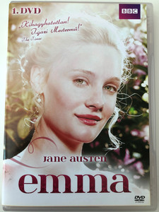 Jane Austen's Emma DVD Part 1. / BBC mini-series / Directed by Jim O'Hanlon / Starring: Romola Garai, Jonny Lee Miller, Michael Gambon, Tamsin Greig (5996473008856)