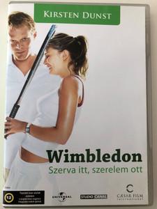Wimbledon DVD 2004 Wimbledon-Szerva itt, szerelem ott / Directed by Richard Loncraine / Starring: Kirsten Dunst, Adam Brooks, Jennifer Flackett (5999554700632)