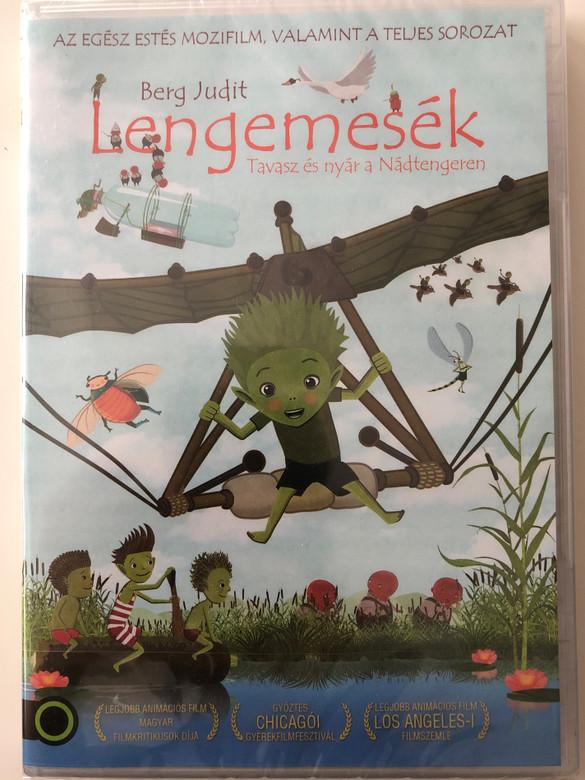 Tales from the Lakeside DVD 2017 Lengemesék - Tavasz és nyár a Nádtengeren / Directed by Zsólt Pálfi / Starring: András Faragó, Anna Kubik, Tamás Markovics (8590548616952)