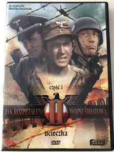 Jak rozpętałem II wojnę światową Część I DVD How I Unleashed World War II Part 1 / Directed by Tadeusz Chmielewski / Starring: Marian Kociniak, Wirgiliusz Gryń, Leonard Pietraszak / Polish mini series (5906619084262)