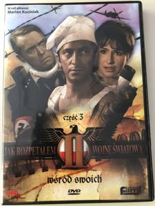 Jak rozpętałem II wojnę światową Część III DVD 1969 How I Unleashed World War II / Directed by Tadeusz Chmielewski / Starring: Marian Kociniak, Wirgiliusz Gryń, Leonard Pietraszak / Polish mini series / Part 3 - Among friends (5906619084286)