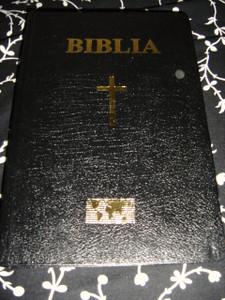 Biblia / Black Romanian Bible / Sau Sfanta Scriptura A Vechiului Si Noului Testament