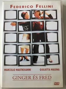 Ginger & Fred DVD 1986 Ginger és Fred / Directed by Federico Fellini / Starring: Marcello Mastroianni, Giulietta Masina (5999881767773)